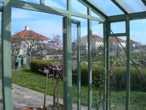 Vinterträdgård-växthus