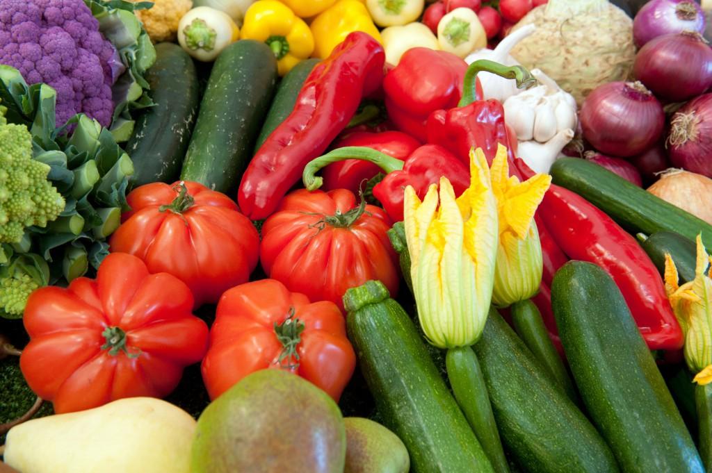 Grönsaker i växthus