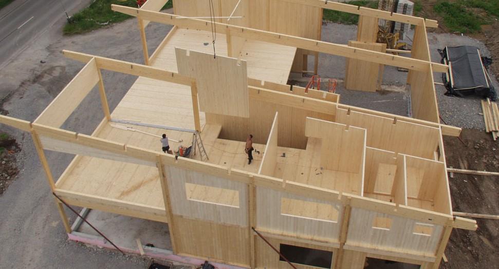 bygga med träklossar