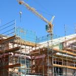 byggarbetsplats, bygge