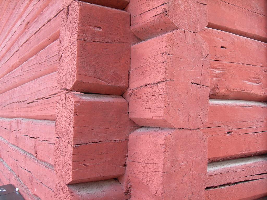Fantastisk Ekobyggportalen » Falu rödfärg på väggen ND-32